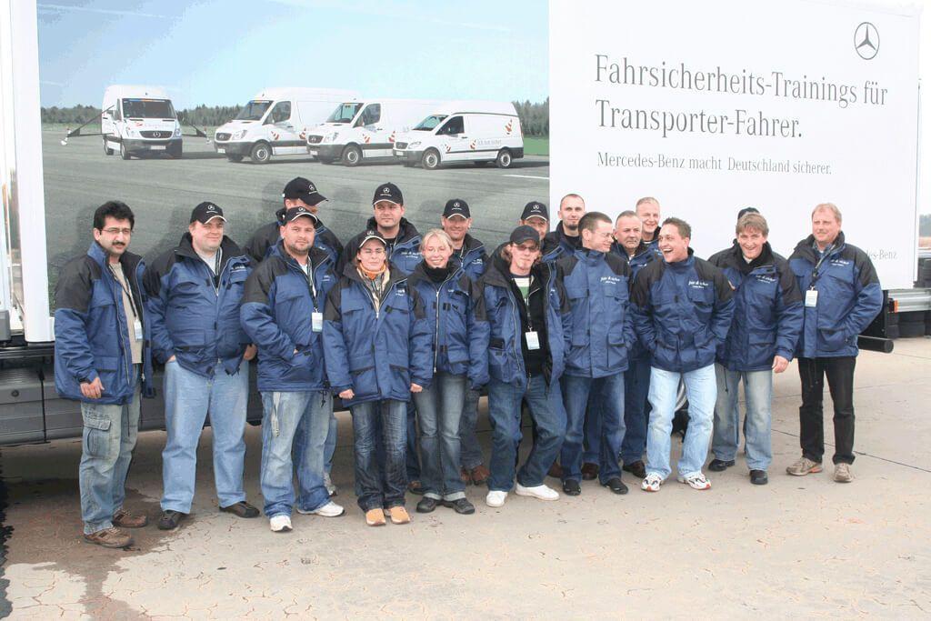 Das Team von Gabrys Transporte