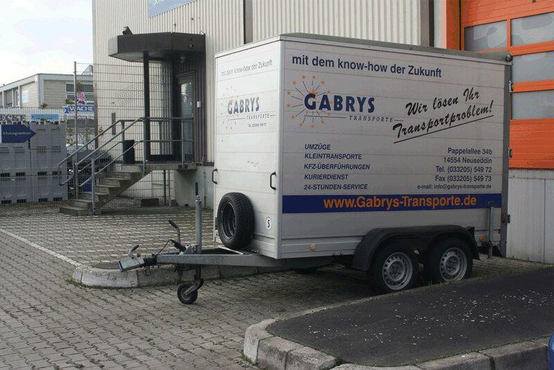 Fuhrpark von Gabrys Transporte
